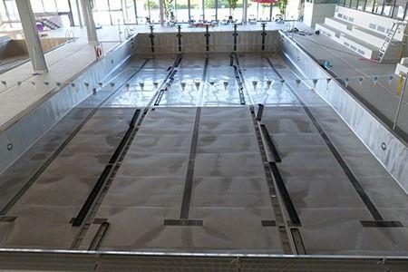 Bandeau de la page 'Fermeture piscine Inoxia pour Vidange