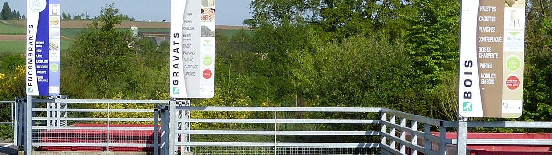 Bandeau de la page 'Collecte des déchets – Changement d'horaires
