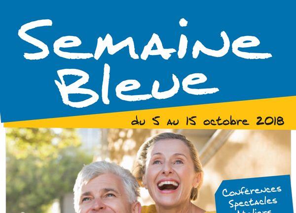 Bandeau de la page 'Semaine bleue : demandez le programme !